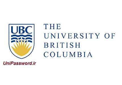پسورد دانشگاه UBC
